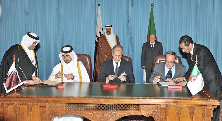 Qatar Steel » Qatar & Algeria in Joint Venture Deal for Steel