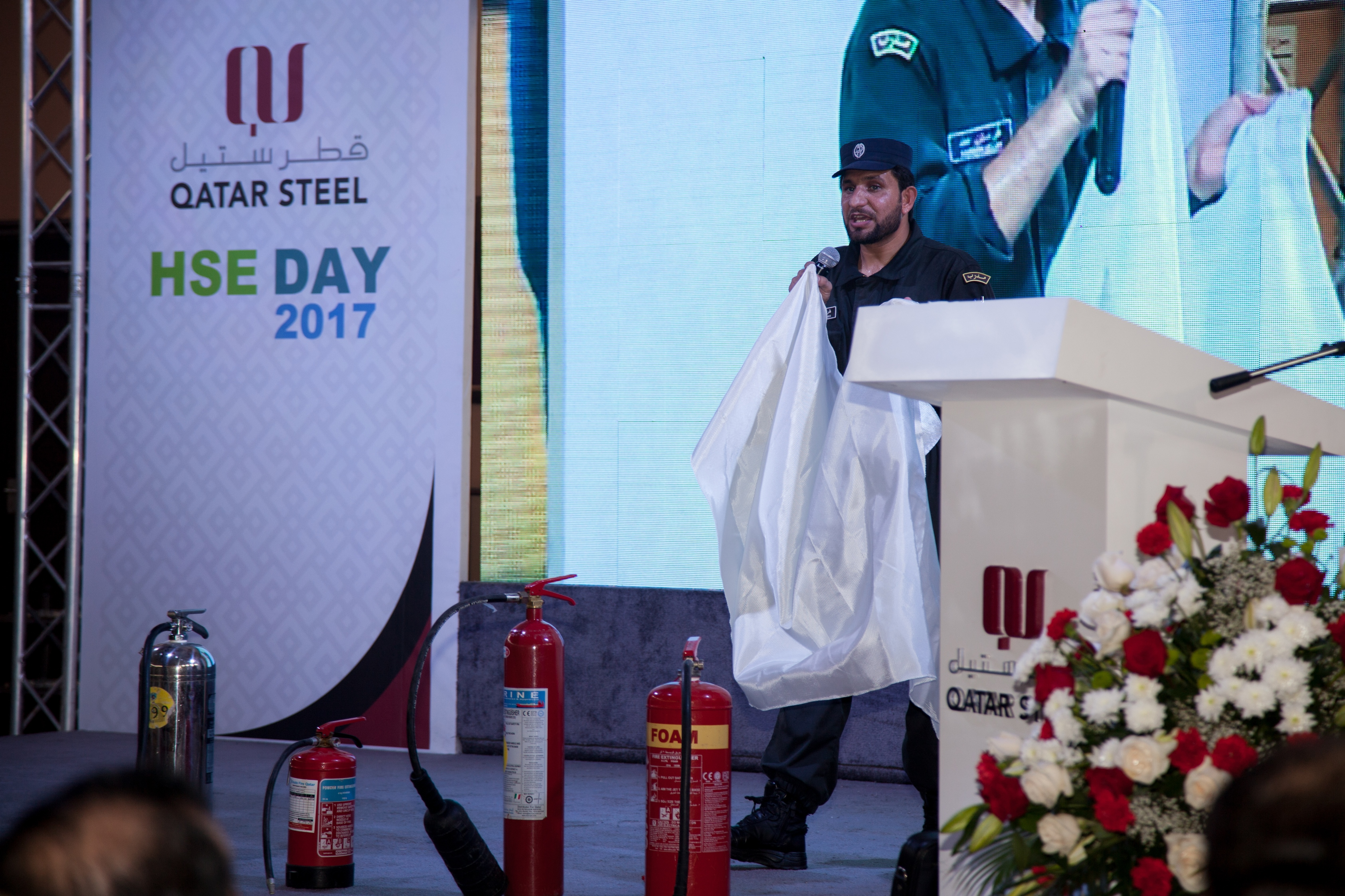 Qatar Steel Celebrates HSE Day